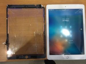 iPad5画面割れ-3