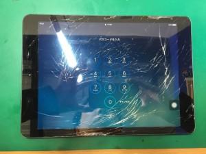 iPadAirガラス割れ