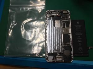iPhone6水没-1